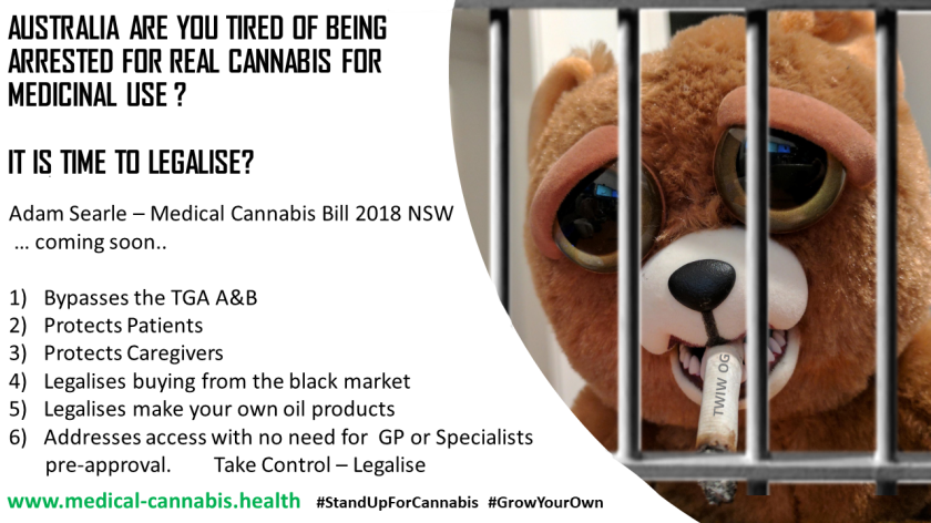 drop bear Cannabis